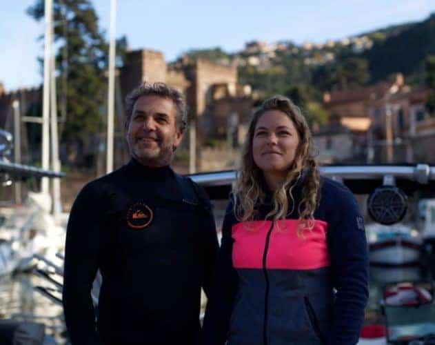 Stan et Anna Koziello, Lift foils sur la côte d'azur